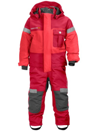 Didriksons Verwall cardinal/rosa coverall