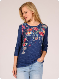 Micha-top, royalblue