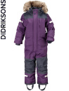 Didriksons Björnen berry purple coveral