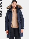 Didriksons Erika, dark night blue, parka