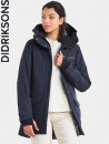Didriksons Frida, dark night blue, parka