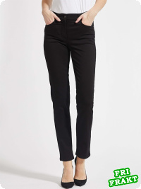 Magic Slim-Jeans Christie svart, regular